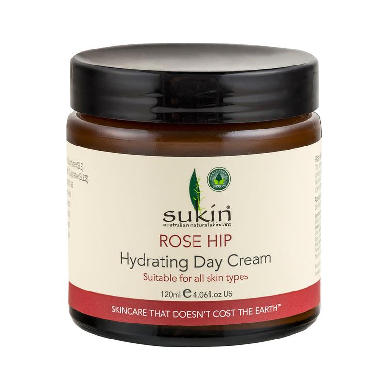 Sukin Rosehip Oil Hydrating Day Cream, 120ml
