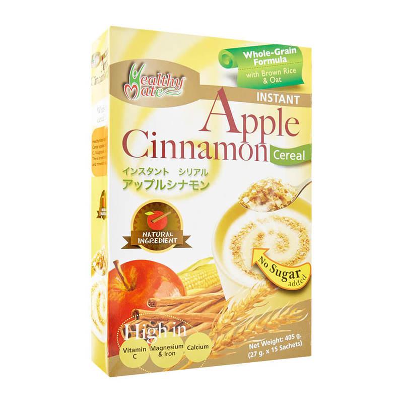 Healthy Mate Cereal Apple Cinnamon No Sugar, 15x27g