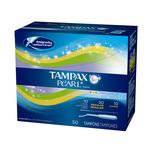 Tampax Pearl Plastic Assorted Tampons Jumbo Pack, 50pcs