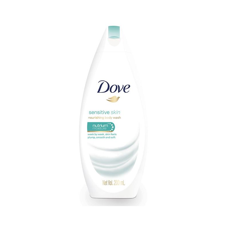 Dove Sensitive Skin Body Wash, 200 ml