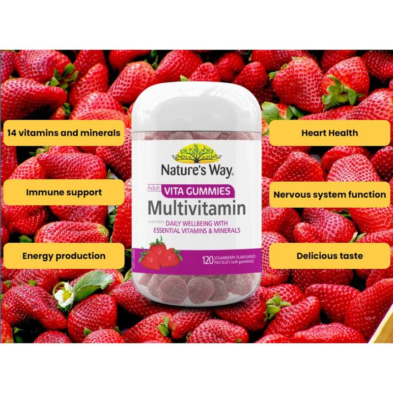 Nature's Way Adult Vita Gummies MultiVitamin 120S