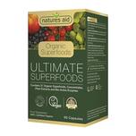 Natures Aid Ultimate Superfoods Capsules (Organic), 60 capsules