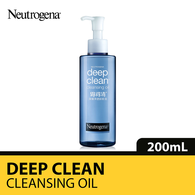 Neutrogena Deep Clean 2-in-1 Refreshing Cleansing Oil, 200ml