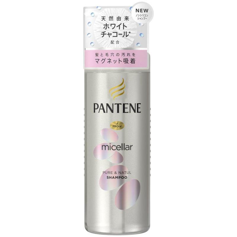 Pantene Micellar Water Pure & Natul Shampoo, 500ml