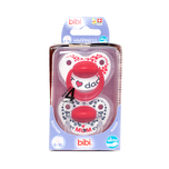 Bibi Happiness Mum/Dad Dental Silicone with Ring (6-16Months) 2pcs + Box