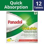 Panadol Soluble, 12 tablets