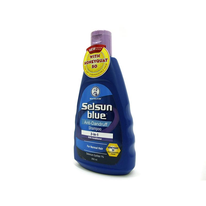 Selsun 2 In 1 Blue Shampoo 200ml