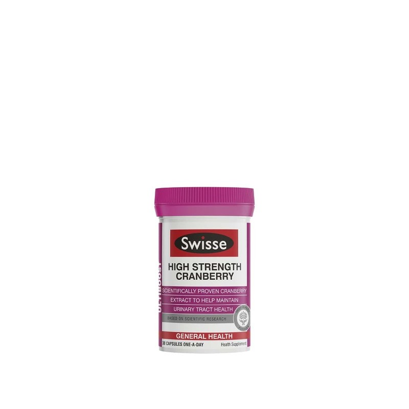 Swisse Ultiboost Cranberry 30 Caps