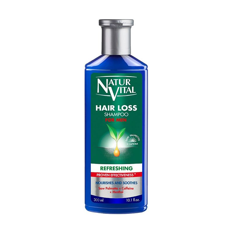 Natur Vital Hair Loss Refreshing Shampoo for Men, 300ml