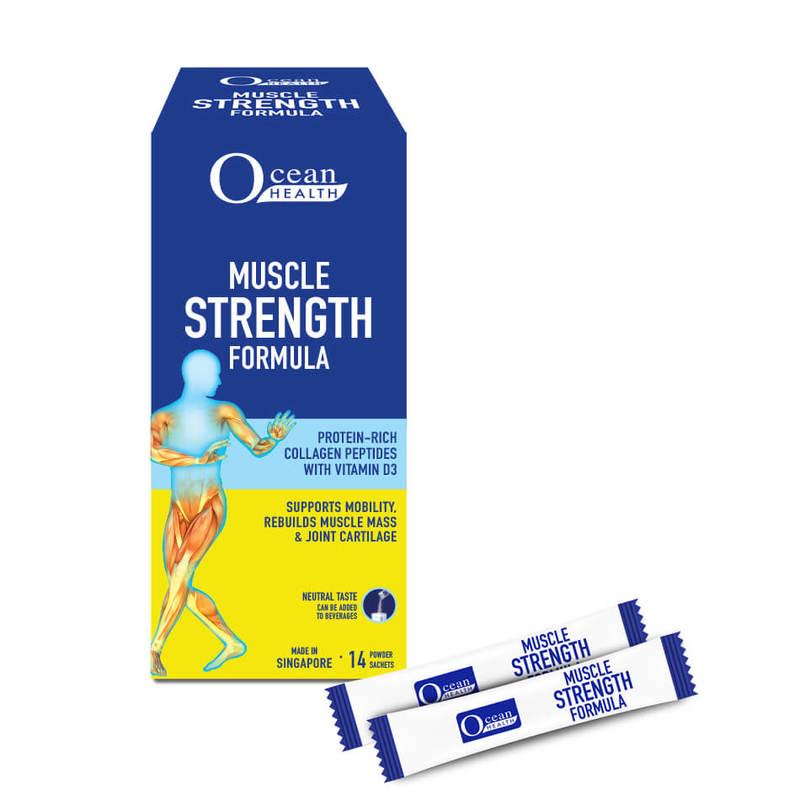 Ocean Health Muscle Strength Formula 14s