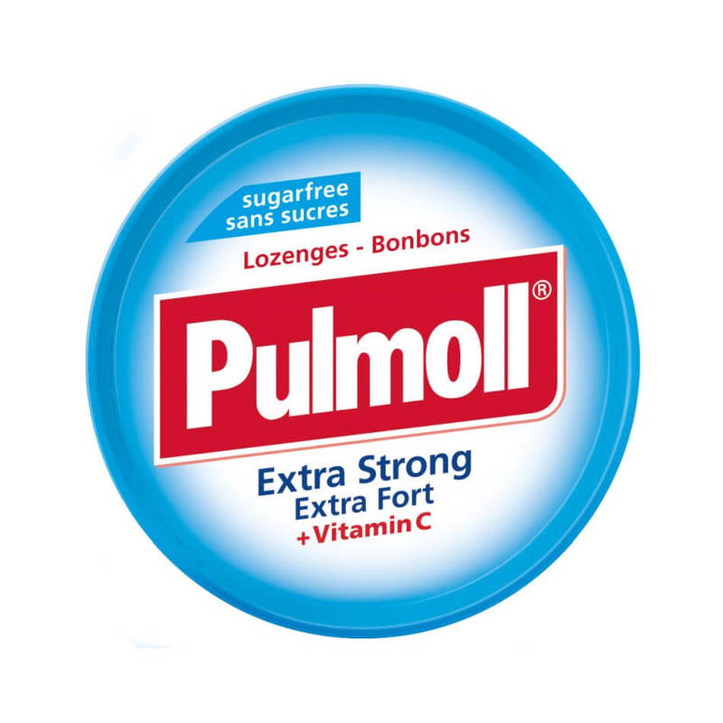 Pulmoll Lozenges Extra Strong Fort + Vitamine C, 45g