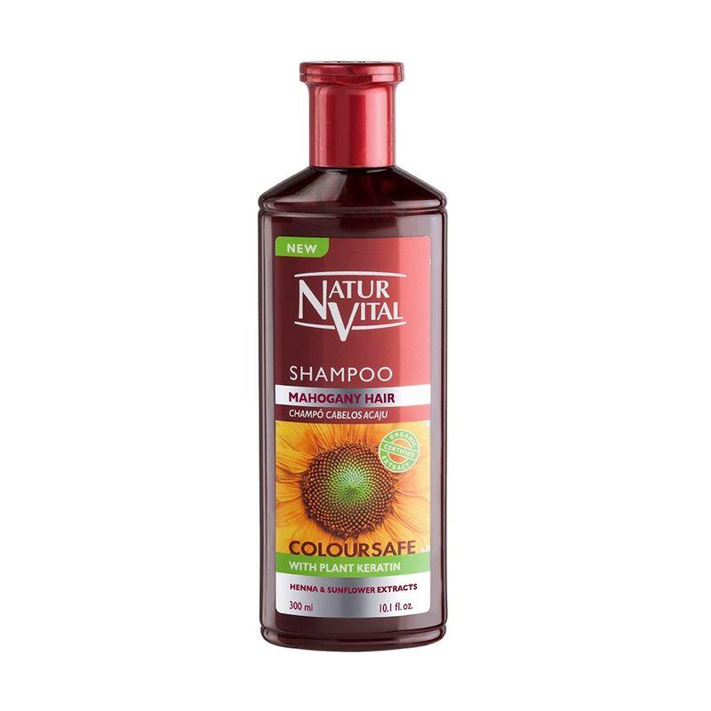 Natur Vital Henna Shampoo Mahogany, 300ml