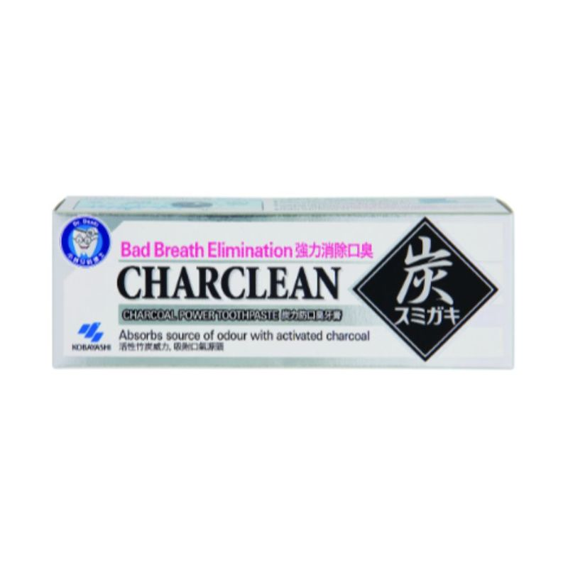 Kobayashi Charclean Charcoal Toothpaste, 100g
