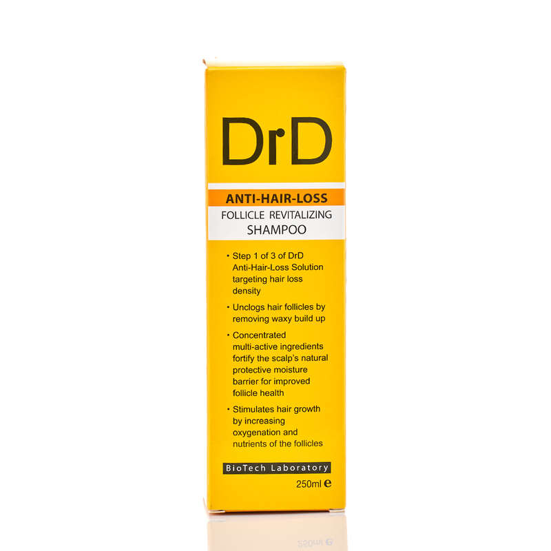 DrD Follicle Revitalizing Shampoo 250mL