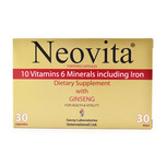 Neovita Dietary Supplement with Ginseng, 30 capsules
