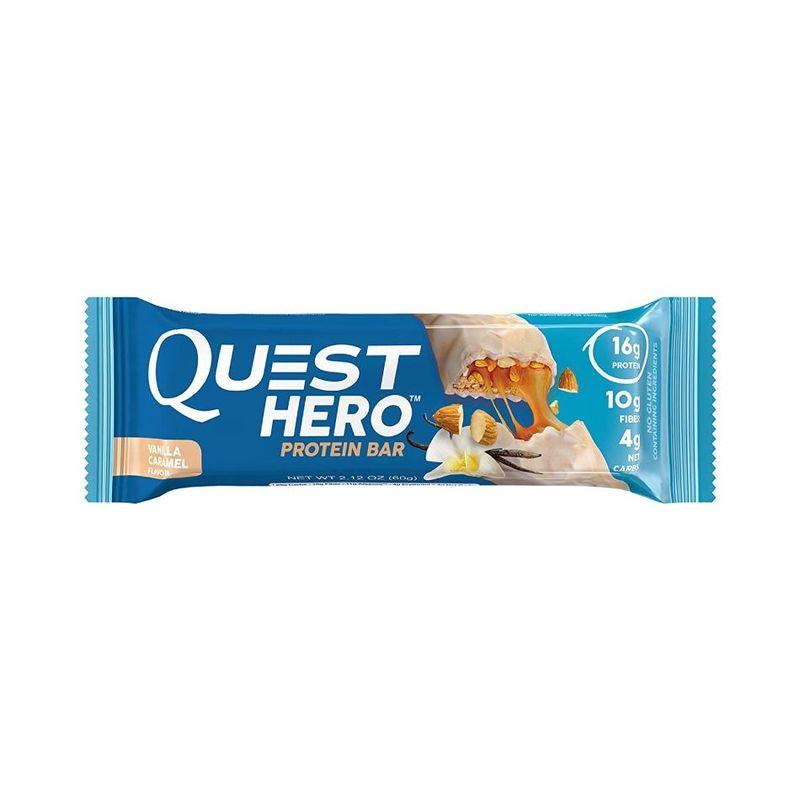 Quest Hero Vanilla Caramel Bar, 60g