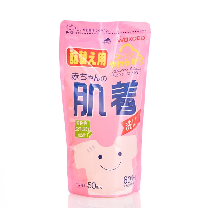 Wakodo Baby Laundry Detergent Refill 600ml