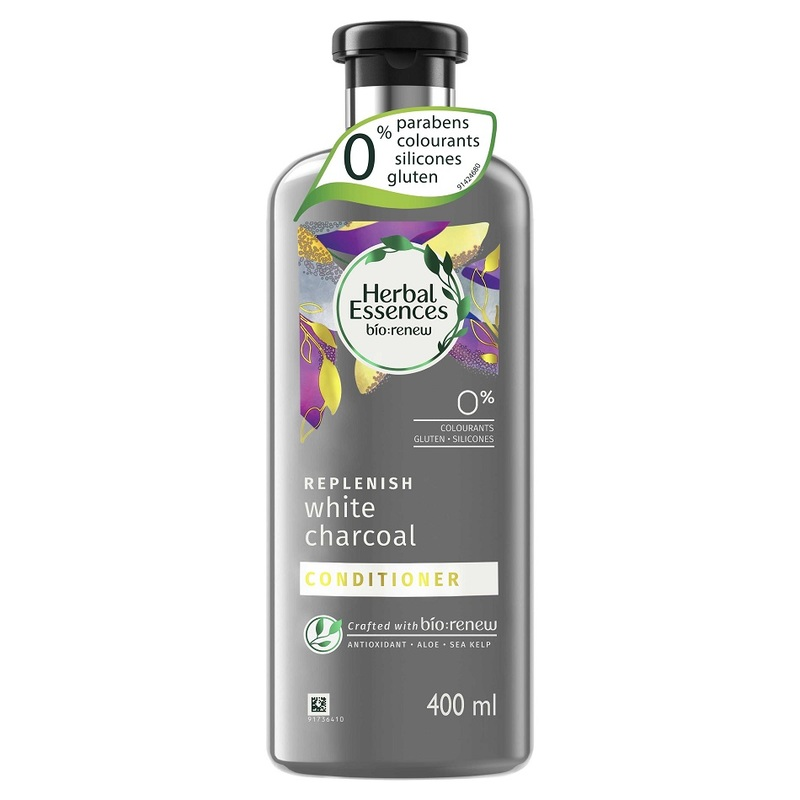 Herbal Essences Bio:renew White Charcoal Conditioner 400 ml