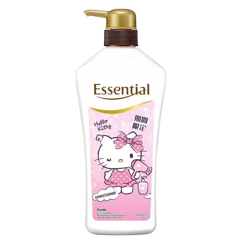 Essential X Hello Kitty Frizz-Free Limited Conditioner 700mL