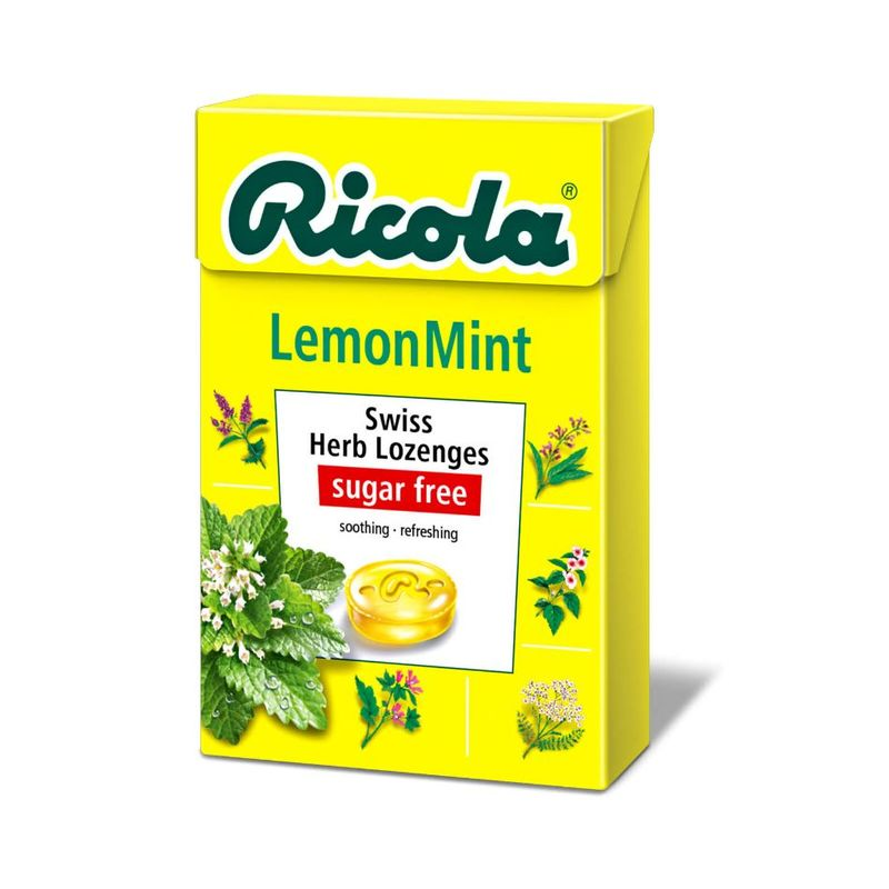 Ricola Swiss Herb Lozenges Lemon Mint, 45g