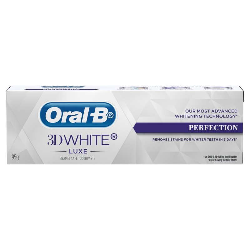 Oral-B 3D White Luxe Perfection Toothpaste, 95g