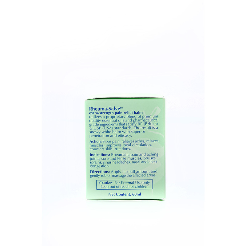 Heritage Gold Rheuma-Salve Medicated Balm, 60ml