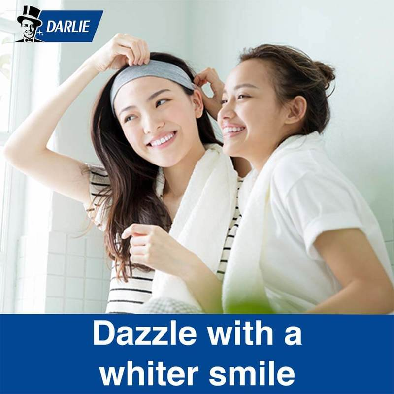 Darlie All Shiny White Charcoal Clean Whitening Toothpaste Buy 2 Get 1 Free 3x140g