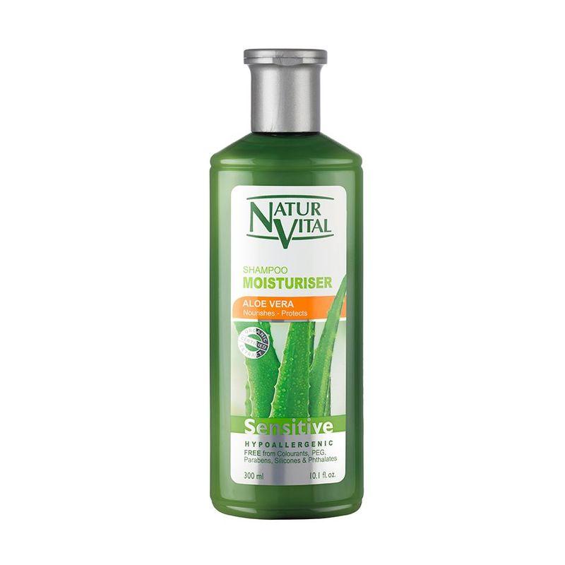 Natur Vital Sensitive Moisturising Shampoo Aloe Vera, 300ml