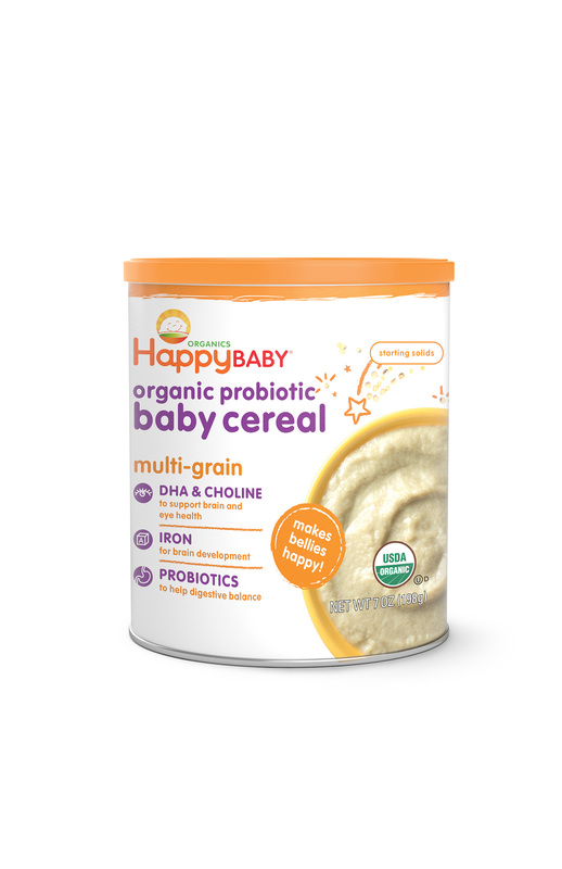 Happy Baby Organics Cereal Multi-grain 198g