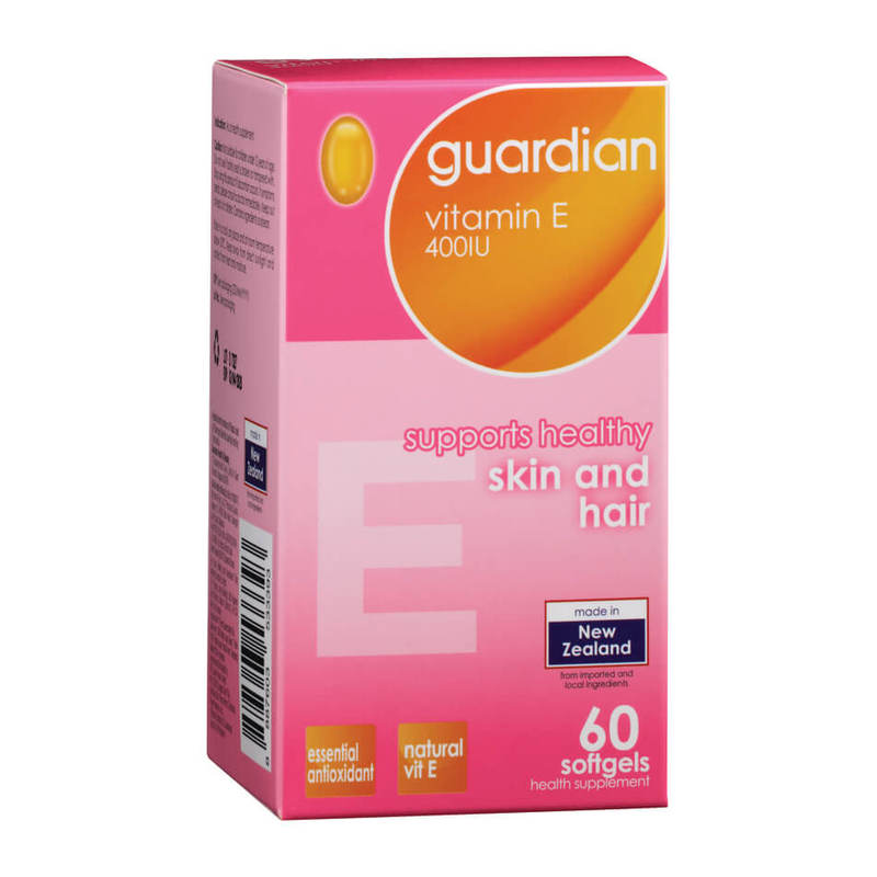 Guardian Vitamin E 400IU, 60pcs