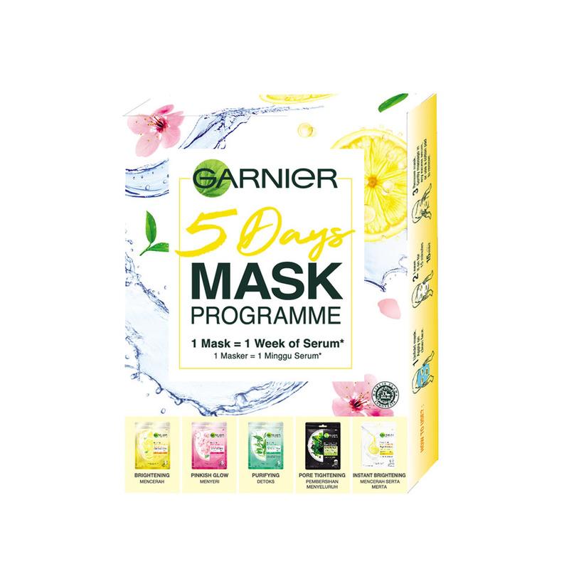 Garnier 5 Days Mask Programme