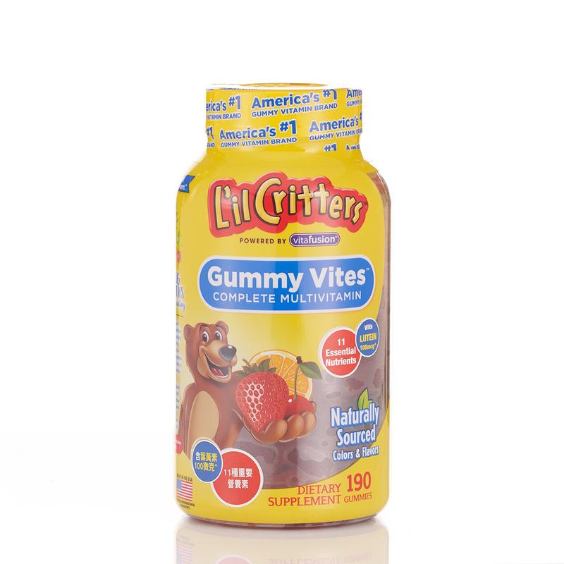 L'il Critters GUMMY VITES 190pcs