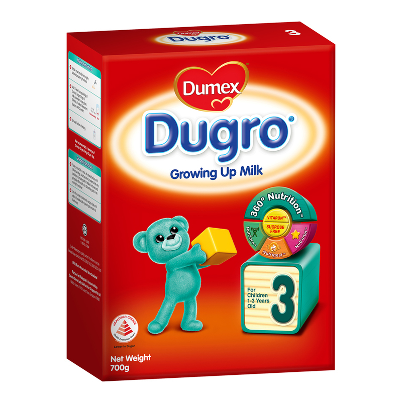 Dumex Dugro Stage 3 Growing Up Baby Milk Formula, 700g