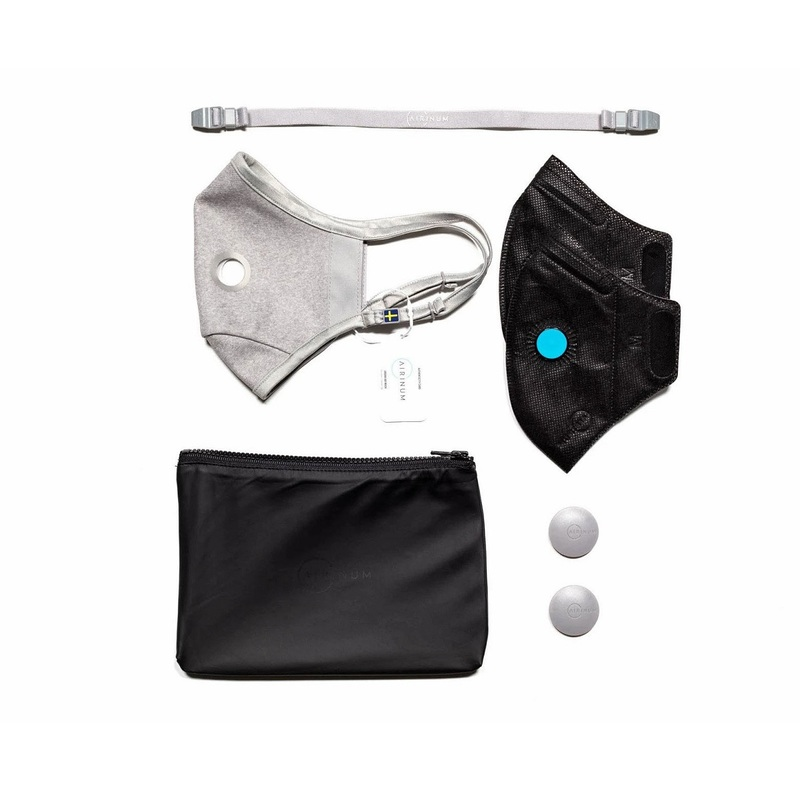 Airinum Air Mask Quartz Grey (M size) 1pc
