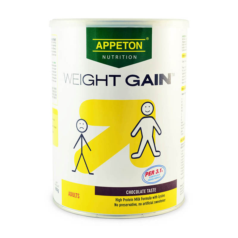 Appeton Weight Gain For Adults Chocolate, 900g