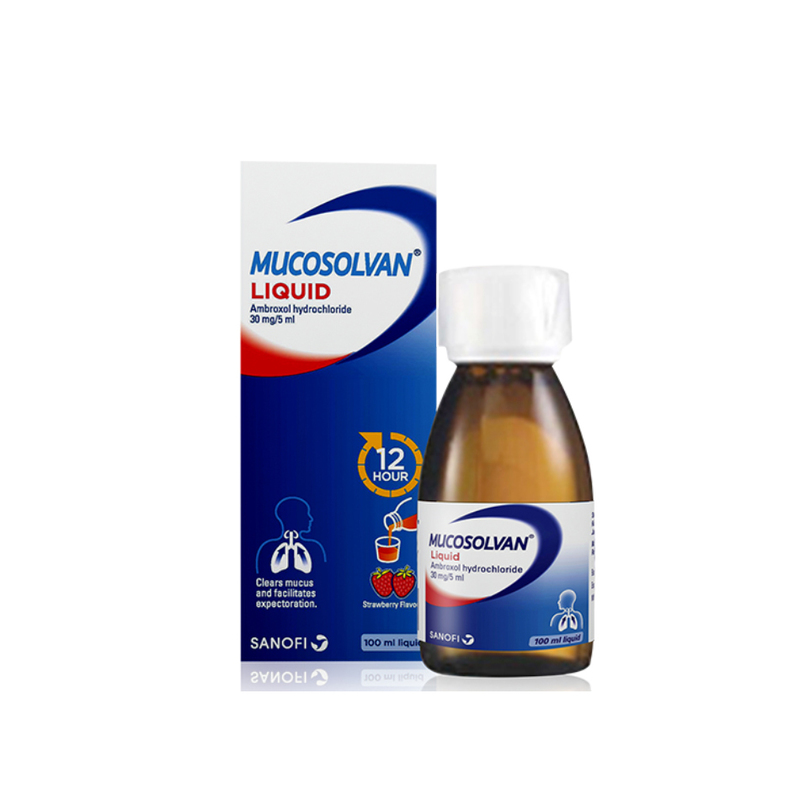 Mucosolvan Cough Relief Syrup 100ml