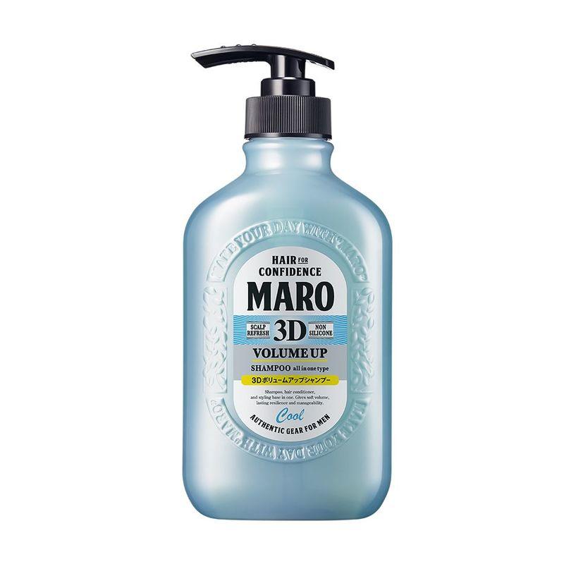 Maro 3D Volume Up Shampoo Cool 400ml
