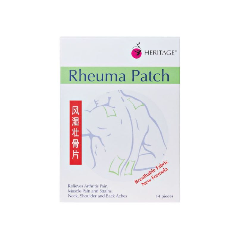Heritage Rheuma Patch, 15pcs