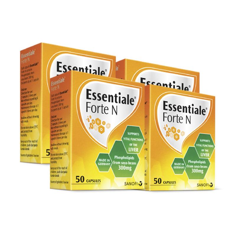 Essentiale Forte N, 4x50pcs