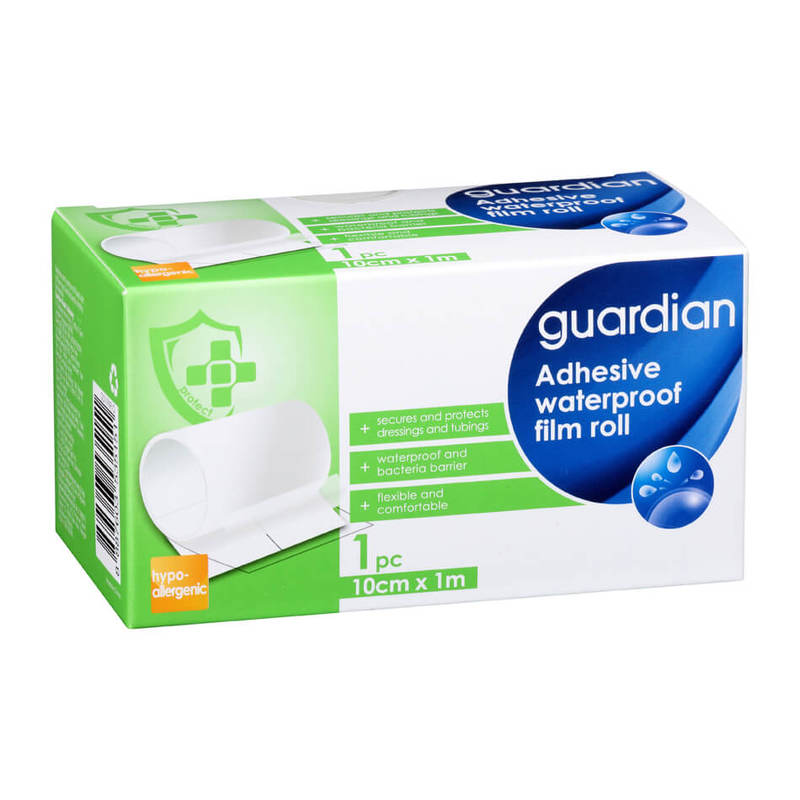 Guardian Adhesive Transparent Film Roll 10cm X 1m
