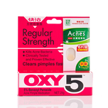 Oxy 5 Acne Pimple Medication 25g Free Acne Dressing 6pcs