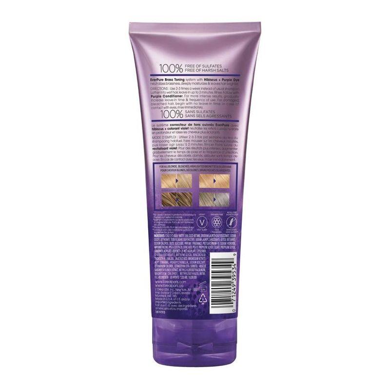 L'Oreal Paris EverPure Brass Toning Purple Shampoo 200ml