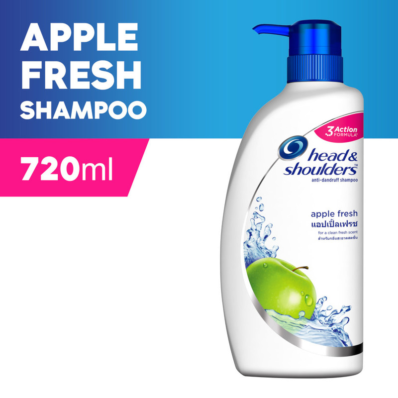 Head & Shoulders Apple Fresh Shmpoo, 720ml
