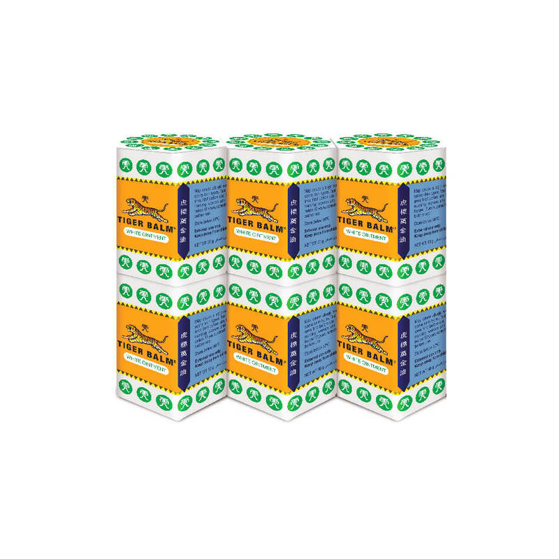 Tiger Balm White Ointment, 6x30g