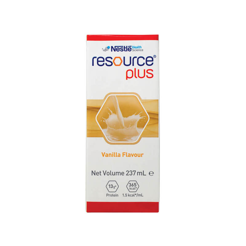 Resource Plus Vanilla, 237ml