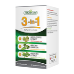 Natures Aid 3-in-1 Natural Formula, 60 capsules