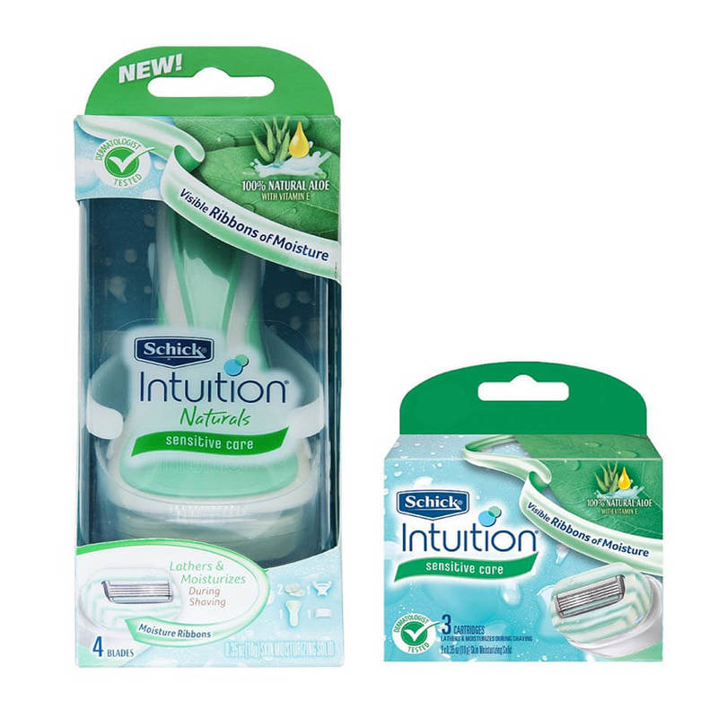Schick Intuition Aloe Kit + Refill 1Set