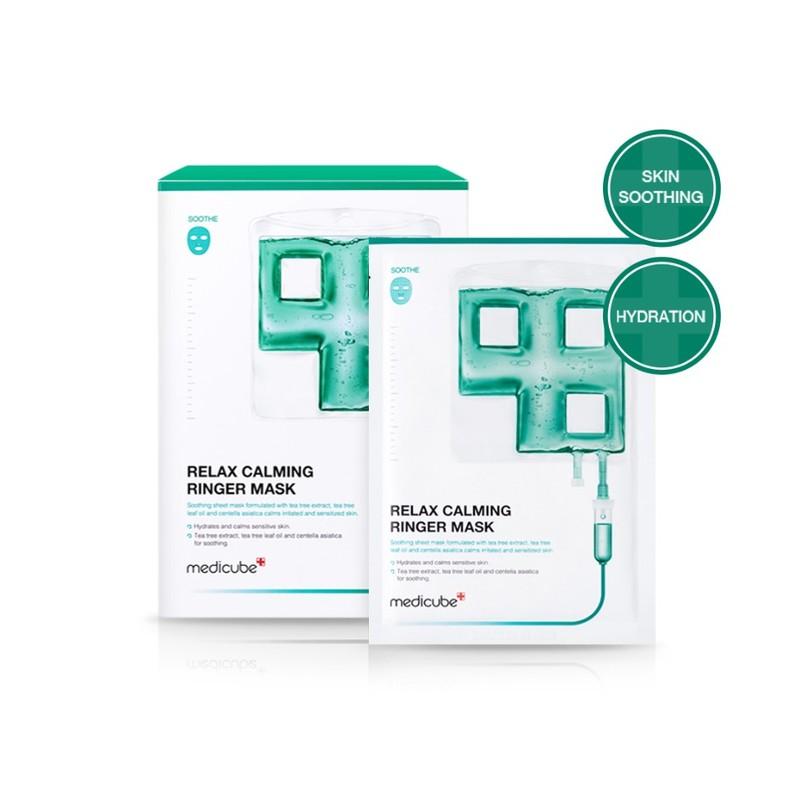 Medicube Relax Calming Ringer Mask, 5 sheets
