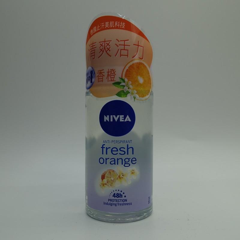 Nivea Deo Roll On-Fresh Orange 50mL
