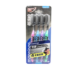 Mannings Charcoal Toothbrush 4pcs